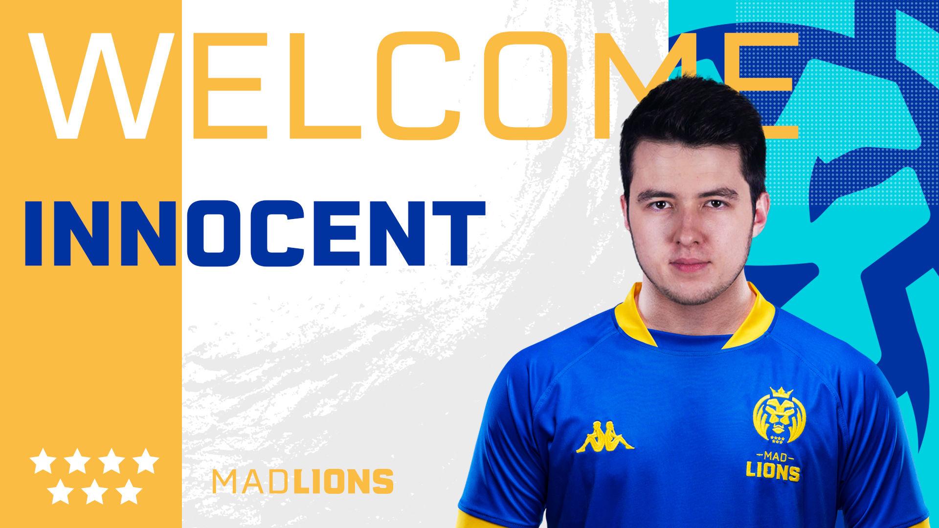 """Paweł """"innocent"""" Mocek oficjalnie w MAD Lions! 1"""
