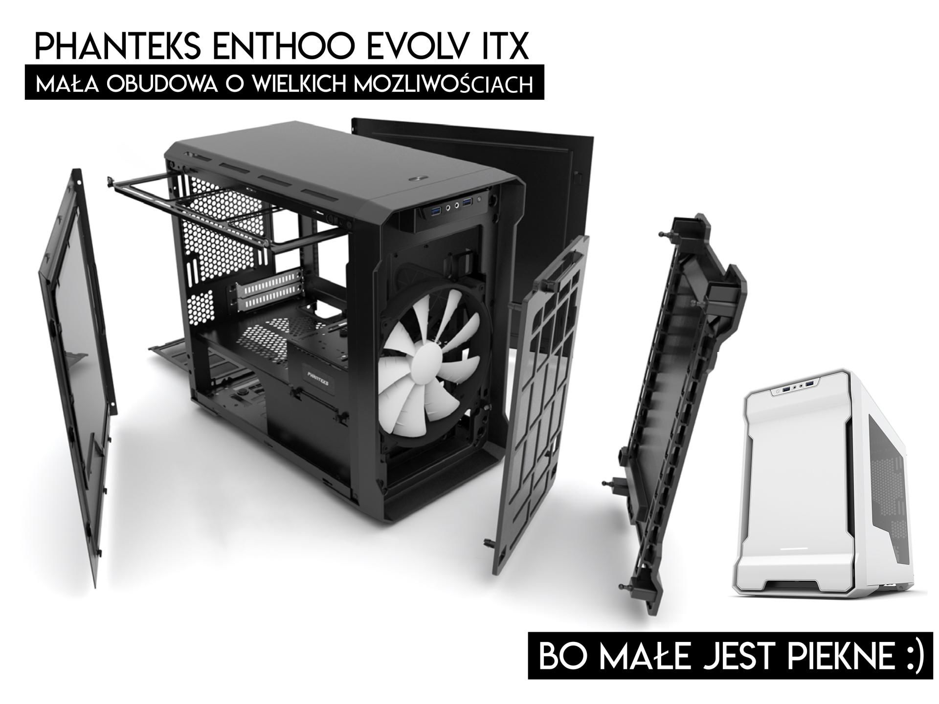 Phanteks Enthoo Evolv ITX - logo