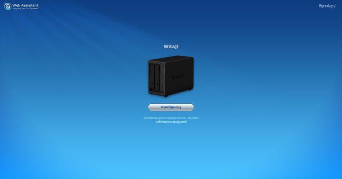Synology DS720+ - instalacja
