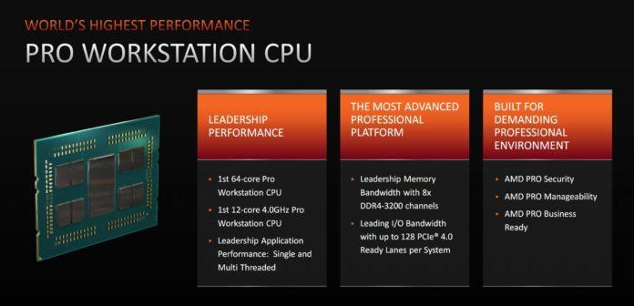 AMD Ryzen Threadripper Pro - platforma dla stacji roboczych 2