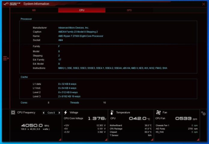 ASUS ROG Strix B550-I Gaming - Ai Suite III