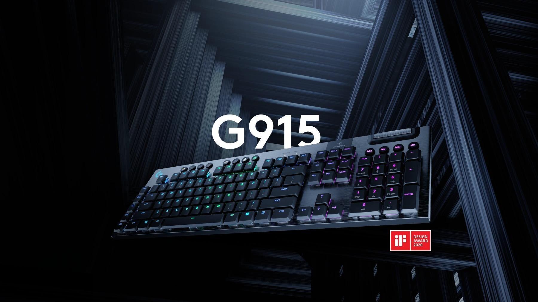 Logitech G915 - recenzja klawiatury do gier i pisania 1