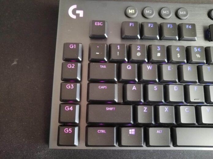 Logitech G915 - klawisze G