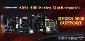BIOSTAR - chipset serii 400 i obsługa Ryzen 5000