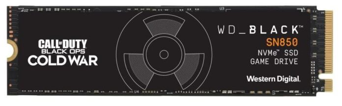 WD Black Call of Duty: Black Ops Cold War Special Edition SN850