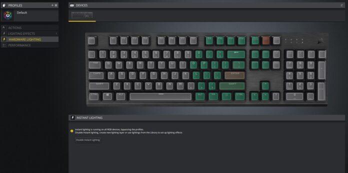 Corsair K60 RGB PRO