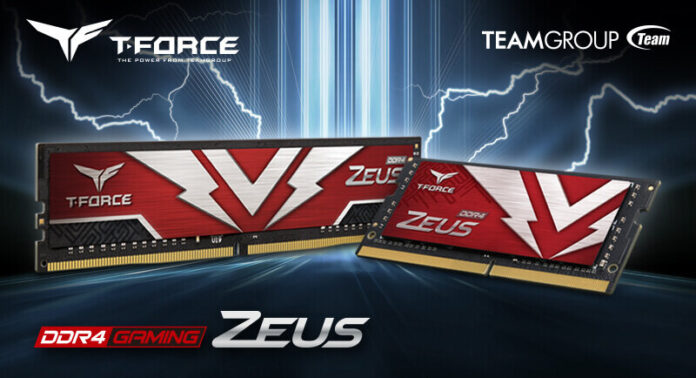 TeamGroup T-FORCE ZEUS DDR4 U-DIMM Gaming Memory