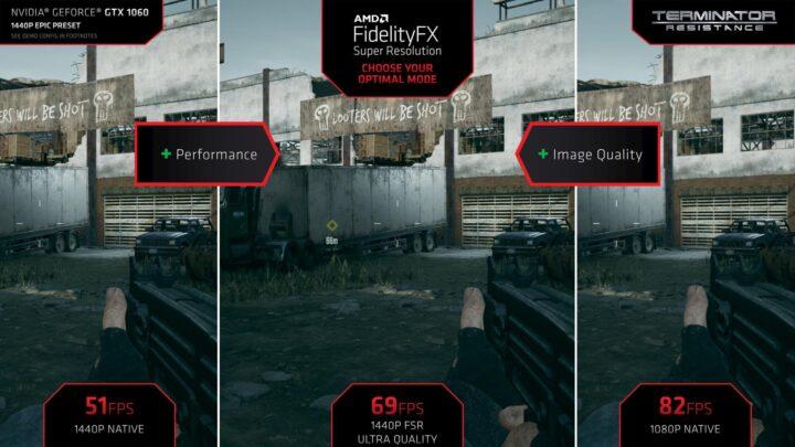 AMD FSR NVIDIA optimal setting - 1440p, Ultra, 1080p -Terminator