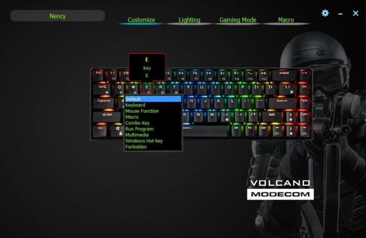Modecom Volcano Lanparty RGB BT